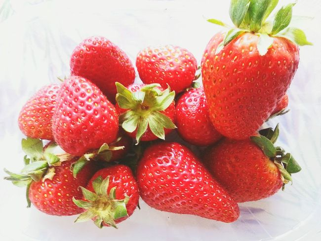 """Summer souvenir"" Foods Fruits Frutta Strawberries Fragole Erdbeeren Fraises Smartphone Photography / Eyeemfilter Fresh /"