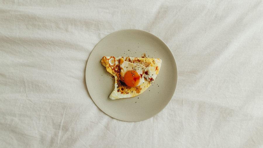Simple Delicious Protein Diet Egg Egg Yolk Food Breakfast Dish Lunch Homemade Omelet Fried Egg Egg White
