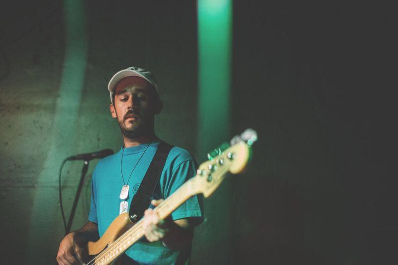 Bass Guitar Live Music Portrait