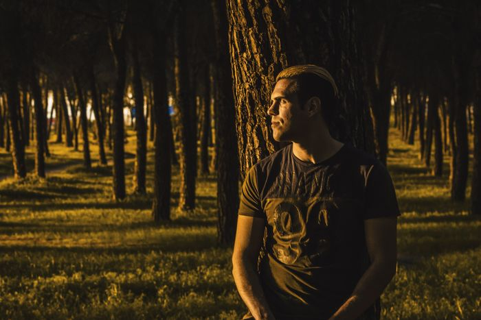 Light and shadows Nature Real People Tree One Person Forest Sunset Attitude Relaxing Getafe Madrid Canonphotography Canon550D Light Illuminated Gold Street Fashion See Young Men TCPM