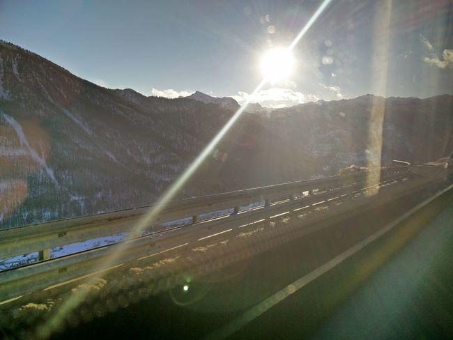 Backtohome Sun Mountains Road