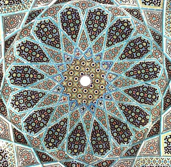 Iran Iran Iran♥ Irantravel Travel Photography Mosque Beautiful Worldtravelpics Traveling Mosche Moschee Yazd Decke
