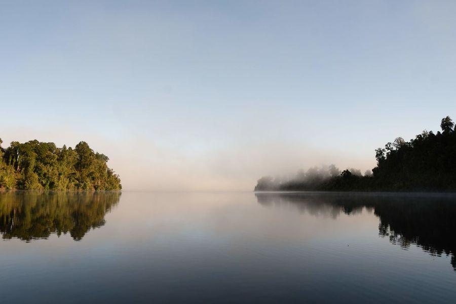 Morning mist. Mist Lake Lake Mist Morning Mist Water Mist Lake Mist EyeEm Selects Tree Water Dawn Fog Lake Autumn Reflection Morning Reflection Lake Standing Water Majestic Sunrise - Dawn Atmospheric Mood Calm Idyllic EyeEmNewHere
