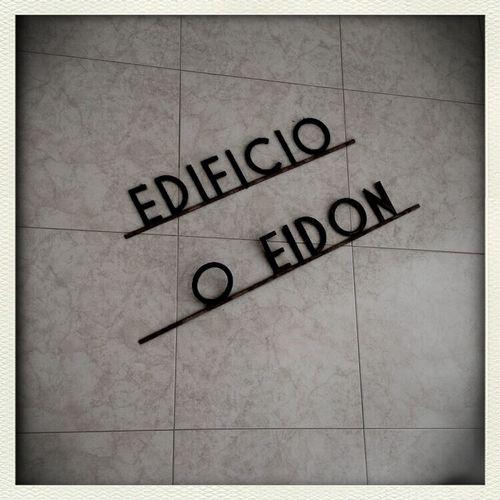 Building Letters Edificio Tipography