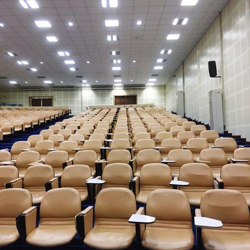 Interior of empty auditorium