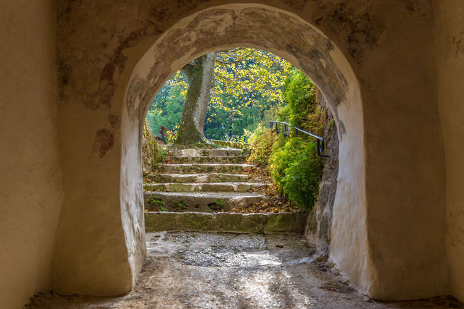 Castle Hohenstein Arch Architecture Built Structure Day History Indoors  Nature No People Old Ruin The Way Forward