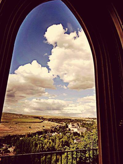 Panorámica desde el interior del Alcazar de Segovia Segovia Alcázar Segovia Taking Photos Travel