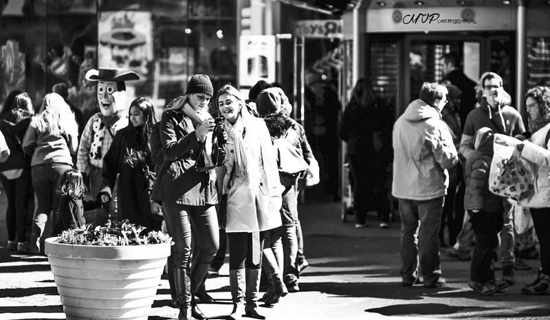 Looking Into The Future NYC Monochrome People Photography People NYC Photography B&w Photography NYC LIFE ♥ B&w Street Photography NYC Street Adventures In The City