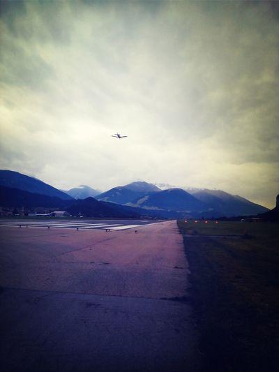 Airport Plane Airplane Innsbruck