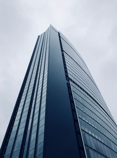 Low Angle View Sky Tall - High Architecture Built Structure Office Building Exterior Building Exterior
