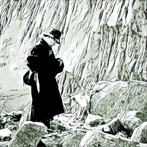 Черно белая картинка монахав горах Experement какая больше нравится? Buddhist Tibet Travel тибет Buddha Nirvana