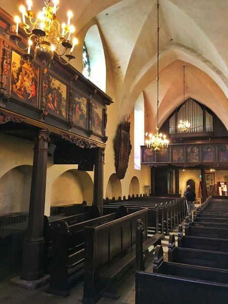Inside Church Tallinn Estonia Baltics2k16