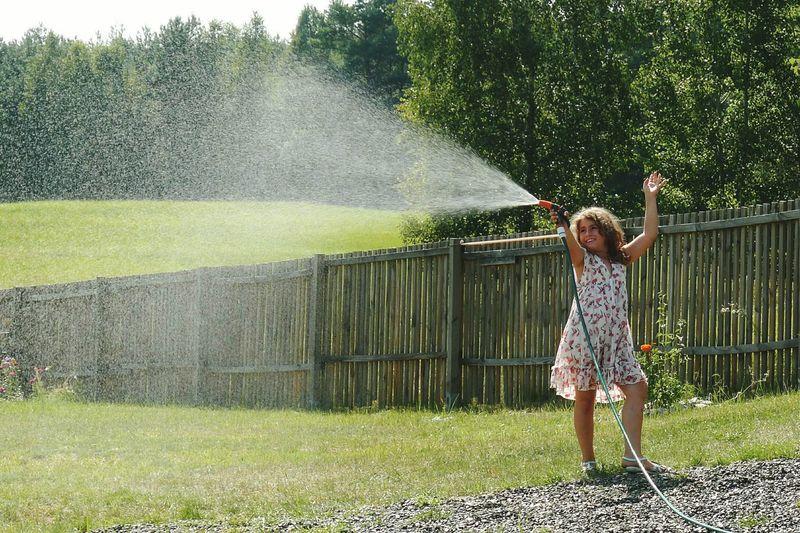 Leisure Activity Outdoors Water Childhood Childhood Fun Fun Girl Fresh On Eyeem  First Eyeem Photo