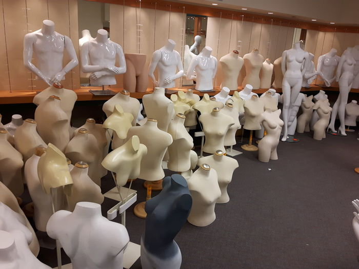 Mannequins In Store For Sale