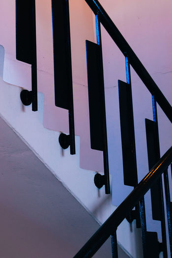 Low angle view of staircases