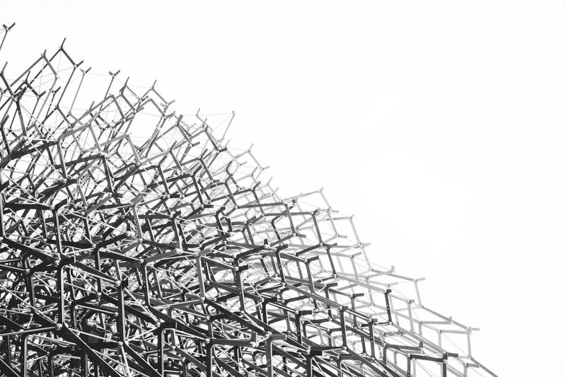 Web Black And White Blackandwhite Cable Connection Construction Development Electricity  Electricity Pylon Environmental Conservation Expo Expo2015 Expo2015milano Fuel And Power Generation Fuji X100s FUJIFILM X100S Low Angle View Metal Metallic Milan Milan,Italy Monochrome No People Outdoors Pavilion Power Cable Power Line  Power Supply Protection Rho Safety Technology Uk Pavillion X100S