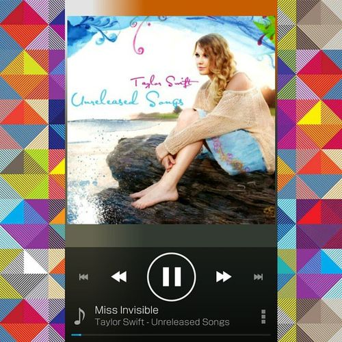 Miss Invisiable by Taylor Swift.Unrealeasd Songs.Incredible.Here's the link http://pan.baidu.com/share/link?shareid=768271241&uk=2433736919 @taylorswiftTaylorswift Unrealeasdsongs Swifties Music