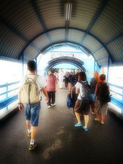 Through time tunnel