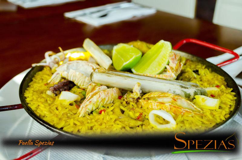 Seafood Paella PaellaMariscos Spezias Chetumal