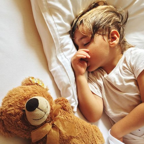 Child Boy Sleeping Innocence Sleep Dreaming