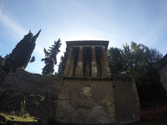 Ancient Civilization Ancient Ruins Architecture Building Exterior Built Structure Day Italy Low Angle View Mt Vesuvius No People Outdoors Pompeii  Sky Tourist Attraction  Tourist Destination Travel Travel Destinations EyeEmNewHere Miles Away Be. Ready.