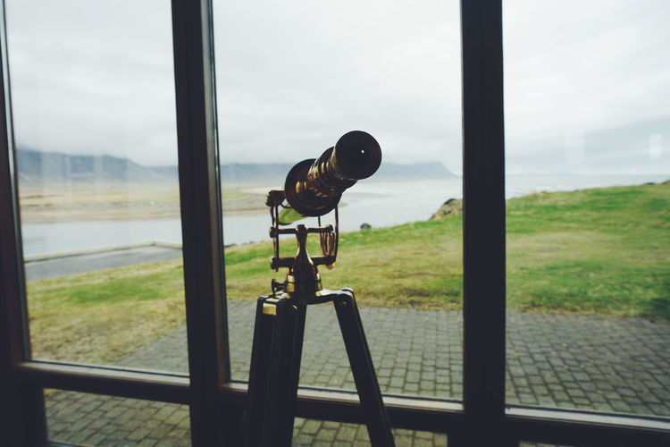 Binoculars Búðir Close-up Coin-operated Binoculars Day Focus On Foreground Hotel Iceland Iceland Trip Indoors  Landscape Looking Metal Nature No People Sky Technology Transportation View View From The Window... Views Window Window View Windows The Great Outdoors - 2017 EyeEm Awards Neighborhood Map