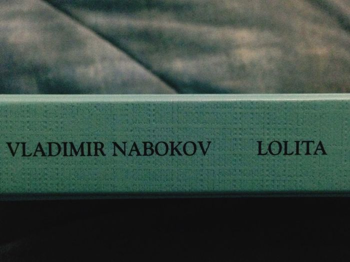 Book Lolita Nabokov