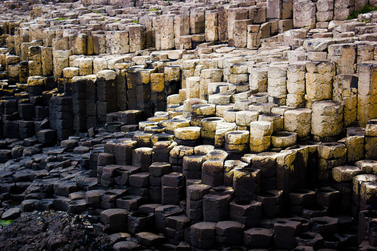 Ancient Day Giant's Causeway Large Group Of Objects No People Outdoors Travel Destinations Vacations Minimalist Architecture Long Goodbye