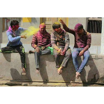 THE BHANG EFFECT MARCH 2015 NANDGAON,INDIA Ishanagarwalphotography Bhang Happyholi Radheradhe Holi Colors Happy People