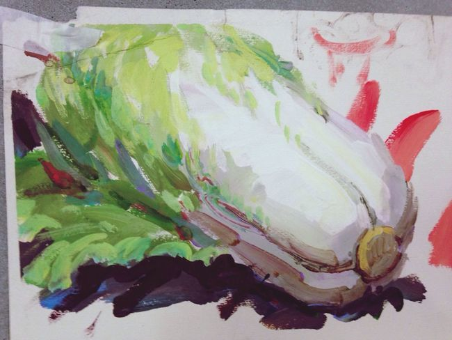 Art Drawing Check This Out Painting cabbage~haha