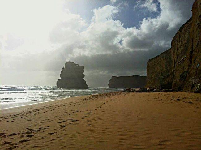 Gibson's Steps - Great Ocean Road, Australia Hello World Greatoceanroad Ocean Travel Nature Landscape Landscape_Collection Rockformation