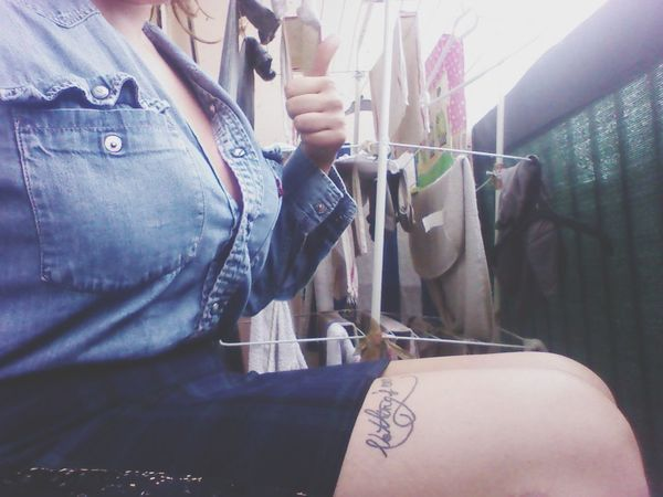 Todays Outfit! That's Me Enjoying Life Helloworld French Girl Tattooedgirls