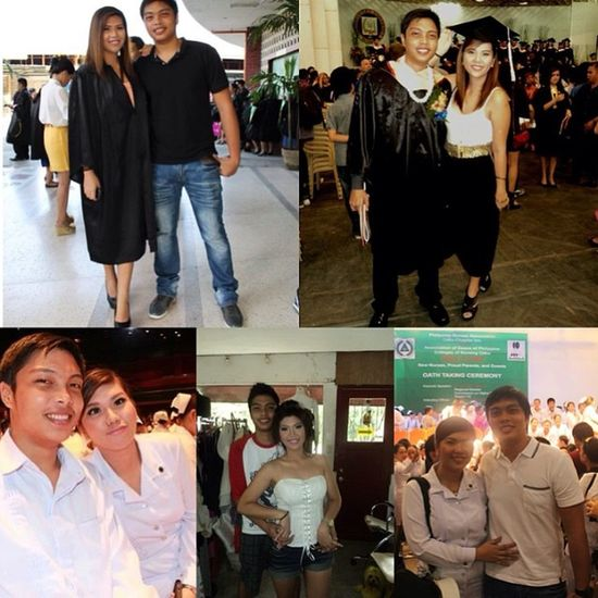 Thank you for still being a part of my life babe :) iloveyousomuch to the moon and back!!! ??? Throwbackthursdays TBT  2011 2012 2013 2014 graduation pinning oathtaking registerednurses lovelovelove igerscebu2014