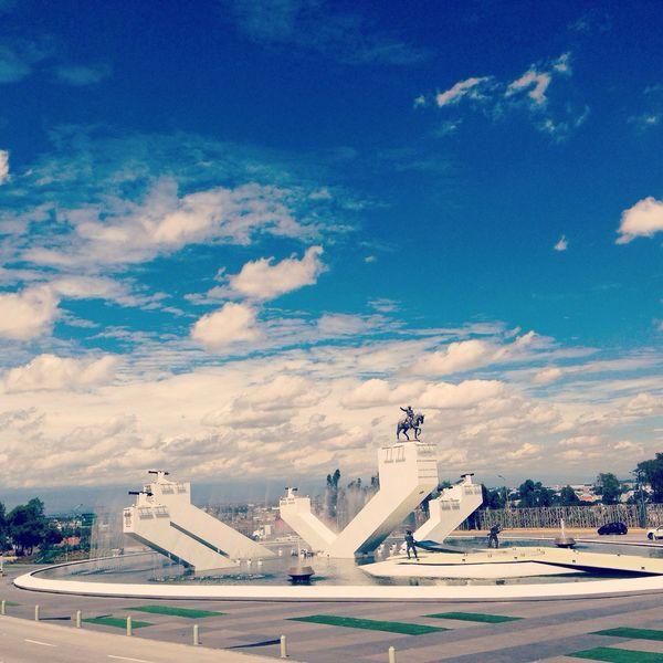 Monumento al General Ignacio Zaragoza Historical Monuments Landscape Fuerte De Loreto Clouds And Sky Discover Your City Urban Landscape Walking Around Cityscapes Taking Photos Streetphotography