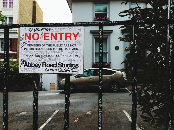 Finally I coming... Abbey Road Abbey Road Studios