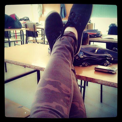 School Schoolday Friday Military pants