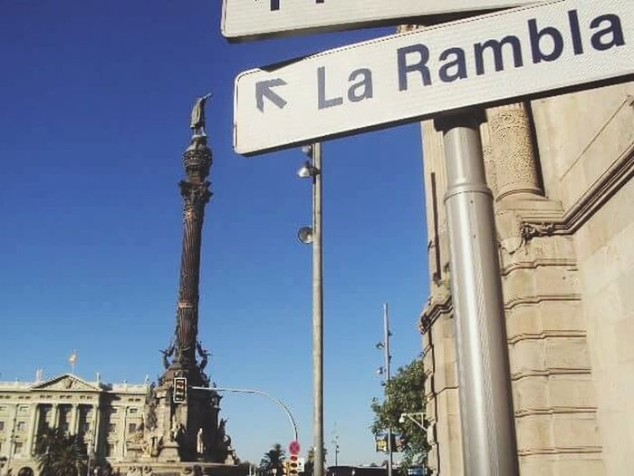 Flashback Barcelona España Larambla First Eyeem Photo