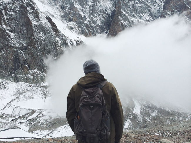 Mountain Lover Mountains Clouds And Sky Mountain Hiking Hikingadventures Explore Trekking Discover  Nevergiveup