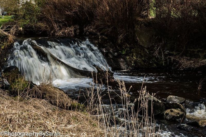 Strathaven Park Waterfall