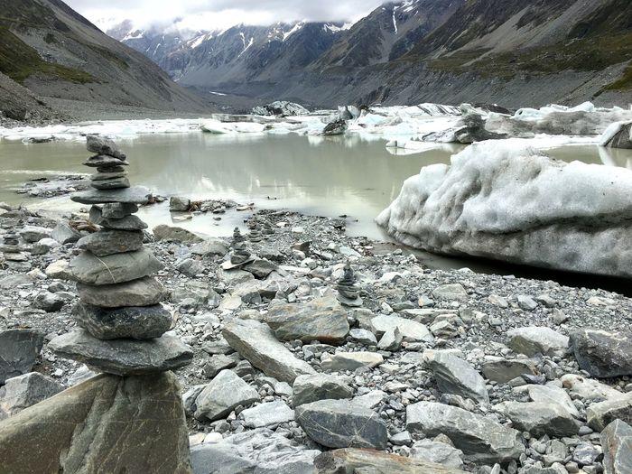 冰山一角 Mt Cook,