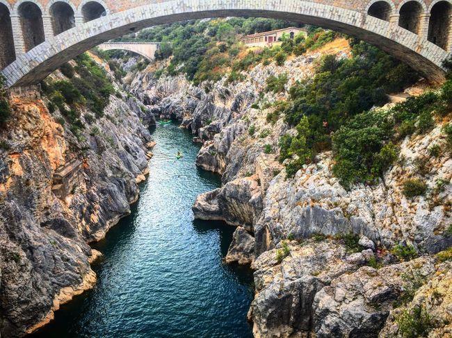 Le pont du diable. Pont Du Diable Saint Jean De Fos Saint Guilhem Gorges De L'hérault Amazing View First Eyeem Photo