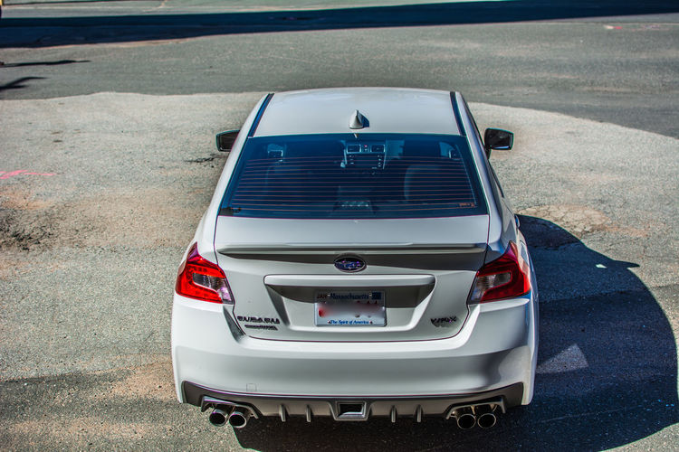 2017 Subaru WRX Car Day Mode Of Transport No People Outdoors The Way Forward Transportation White Crystal Pearl