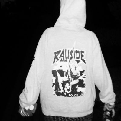 Adolescence  Black Background Close-up One Person People Punk Real People Standing Text Youth Of Today