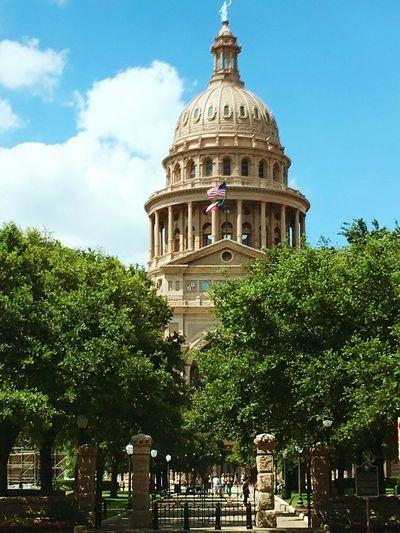 Austin Texas Capitol Building Beautiful Day