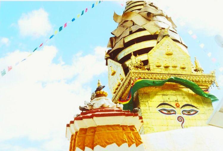 Nepal #travel Katmandu Buddha Budda In My Soul Buddhist Temple