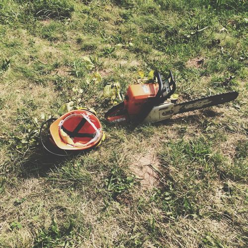 Power Saw Sawing Trees Woodman Equipment Tools Make It Yourself Motorsäge Motoseghe