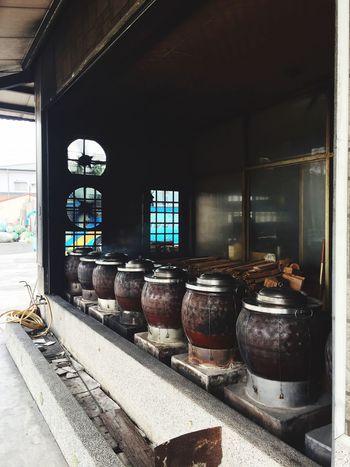 Indoors  No People Industry Barrel Abandoned Rusty Wine Cask Day 物