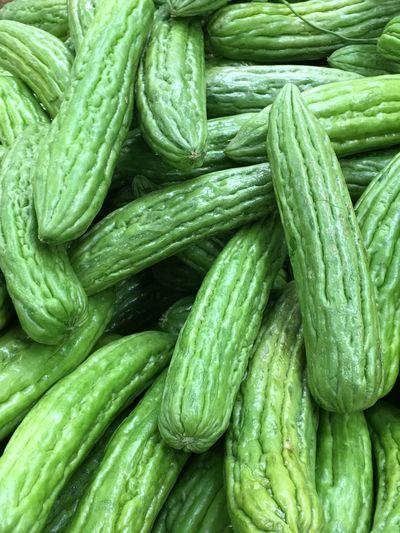 Full frame of vegetables in market