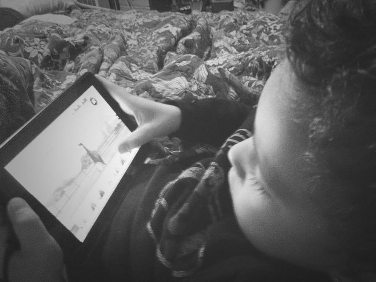 - This Is All My Nephew Dose, Play The Kindle!