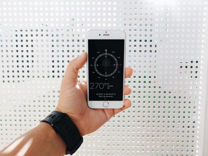 Human Hand Smart Phone Technology Holding Watch Clock Compass Trip Roadtrip One Person People Let's Go. Together. EyeEmNewHere Second Acts The Traveler - 2018 EyeEm Awards